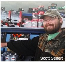 Scott Seifert, one of our staff in Oilmont, MT